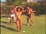 Spicey Latina Takes Two Big Black Fellas!