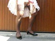 pumping under the dress