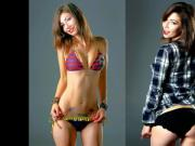 Jade Dagenais Hardens Cocks In Bikini & Thong
