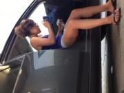 Carwash sexy teen upshorts!! 3