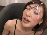 Massive Bukkake For Ichika Kamihata