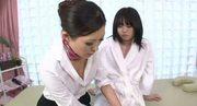 Hot Japanese Lesbian Massage 5