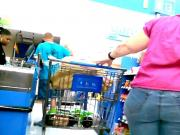 Wide BBW Brunette Runner at WalMart!
