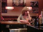 Candid Captures - 80's Blonde In Bar