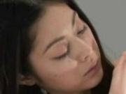 Beautiful Young Japanese Girl Ice Cock Blowjob