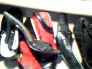shoes cum talons de ma copine