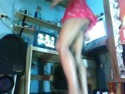 puta bailando