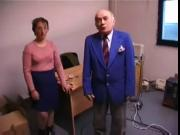 Nervous French Milf Gets Fucked By Older Guy !