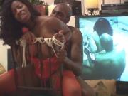 Strapped & Tied Vanessa Blue gets fucked by Lexington Steele