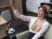 Kara Carter takes selfies of her boobs