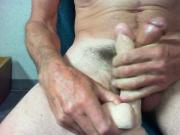 Frotting with my dildo