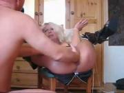 Mature Extreme fist & squirt