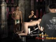 Gorgeous kinky bitches pleasure a horny studs thick meat