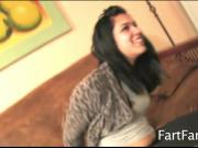 Cristi Minaj Stinky Farts Trapped in Tight Yoga Pants