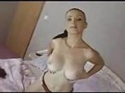 Busty Czech Babe Ilona Drains 3 Cocks.