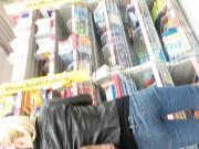 Strammer Arsch in Jeans verpackt !!!