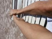 My Hot Wife's Feet at the Pool