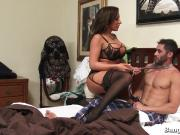 Horny Guy Goes Balls Deep In His Stepmom!