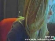 Hot Blonde Hottie on Cam...