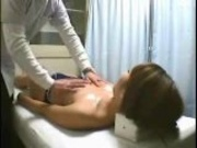 Hidden Cam Spy Young Japanese Massage Patient Fingered