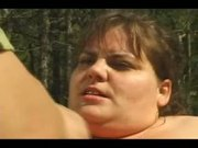 Sexy Big BOOB BBW Fucks In The Jungle