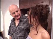 Dude fucks random whore with his wife looking over them