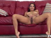 Abby Lee Brazil cumswallows on webcam show