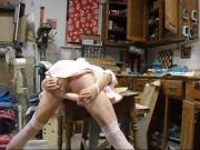 sissy self spanking