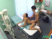FakeHospital Hot nurse massages patient before sucking