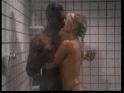 Silver Forrest fucks black tramp in the shower