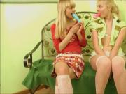 Russian Loly and Vika Play
