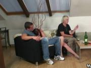 Boozed motherinlaw seduces me into sex