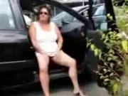 mommy fingering pussy in the car