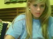 Skype hot blond !