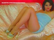 WM 109 Legs & Feet in suntan Pantyhose