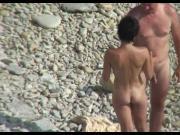 hidden camera on the beach