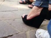 sexi feet on heels