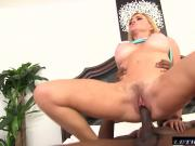 Black Cocks Matter-Krissy Lynn lets black cock stretch pussy