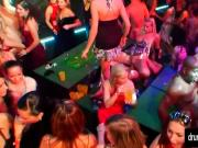 Sexy babes gets fucked at casino party