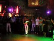 German male stripper CFNM party