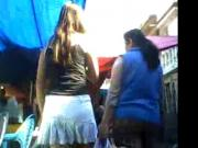 minifalda colegial