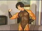 Female Bodybuilder Christa Bauch