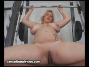 Curvy Model Fucks Her Big Black Personal Trainer