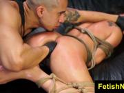 FetishNetwork Esmi Lee bisexual slave