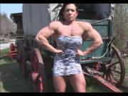 Isabelle Turell - Muscles in Dress