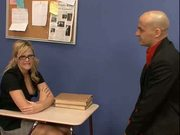 Blonde student fucked by her Teacher