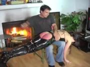 Really hard spanking