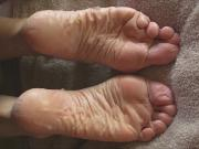 Big Load for Lyn's Soles