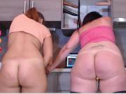 Big Ass BBW Standing Orgasm - Cam Chat - 2