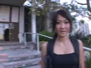 Asian coed Taya Talise goes for big dick